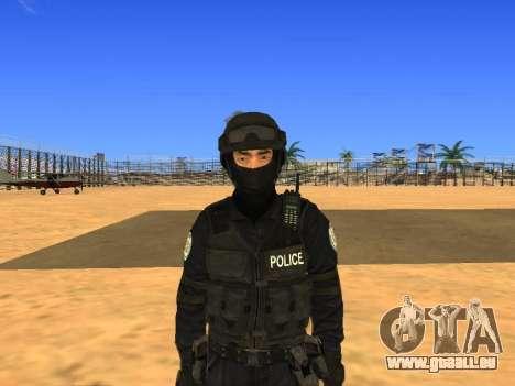 Skin SWAT HD für GTA San Andreas