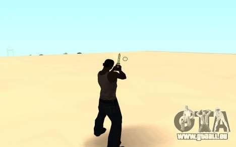 Desert eagle gradient pour GTA San Andreas troisième écran