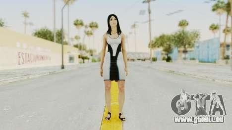 Mass Effect 3 Diana Allers für GTA San Andreas zweiten Screenshot