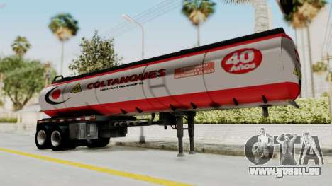 Trailer de Conbustible pour GTA San Andreas