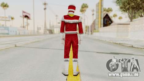 Power Rangers In Space - Red für GTA San Andreas dritten Screenshot