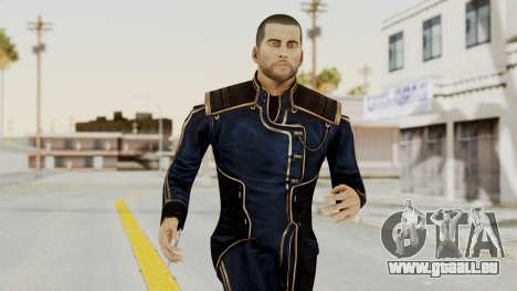 Mass Effect 3 Shepard Formal Alliance Uniform pour GTA San Andreas