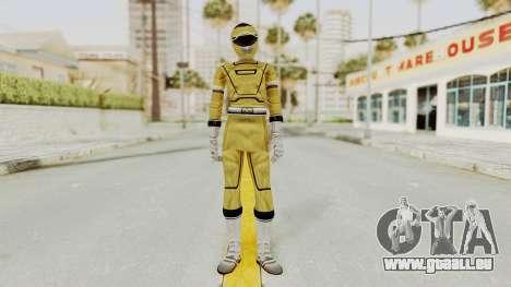 Power Rangers Turbo - Yellow für GTA San Andreas zweiten Screenshot
