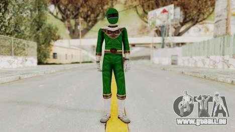 Power Ranger Zeo - Green pour GTA San Andreas deuxième écran
