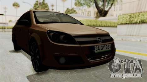 Opel Astra Sedan 2011 pour GTA San Andreas vue de droite