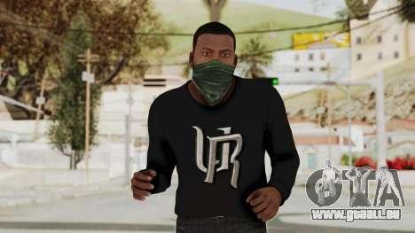 GTA 5 Franklin v1 pour GTA San Andreas