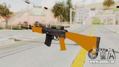 IOFB INSAS Plastic Orange Skin für GTA San Andreas zweiten Screenshot