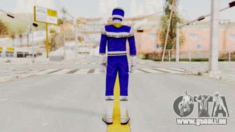 Power Rangers In Space - Blue pour GTA San Andreas troisième écran