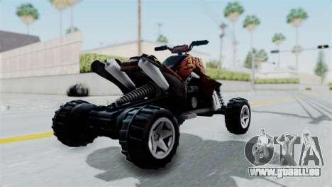 Sand Stinger from Hot Wheels v2 pour GTA San Andreas laissé vue