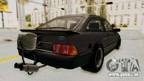 Ford Sierra Mk1 Drag Version für GTA San Andreas linke Ansicht