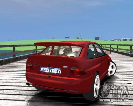 Ford Escort RS Cosworth für GTA 4 linke Ansicht