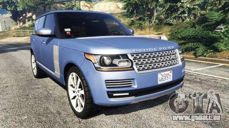 Range Rover (L405) Vogue 2013 pour GTA 5