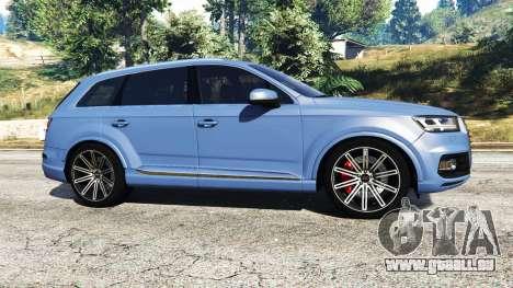 GTA 5 Audi Q7 2015 [rims1] vue latérale gauche