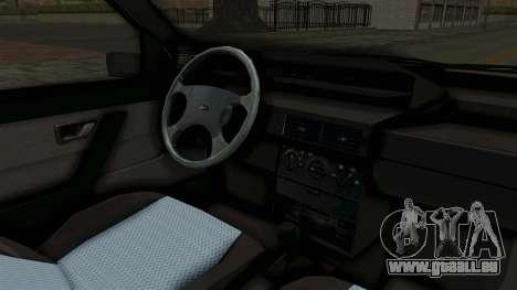 Fiat Tempra pour GTA San Andreas vue intérieure