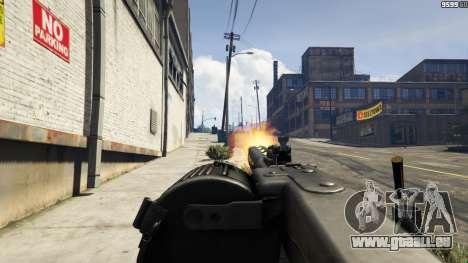 GTA 5 MG-42 sixième capture d'écran