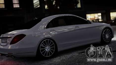 Mercedes-Benz w222 für GTA 4 linke Ansicht