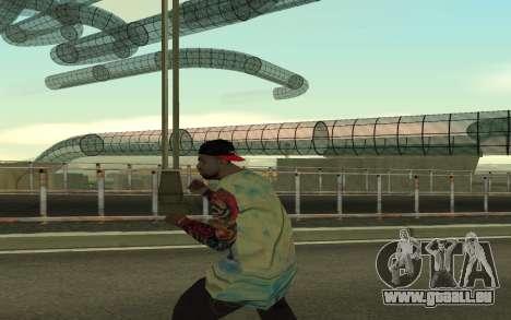 Grove Street Gang Member pour GTA San Andreas troisième écran