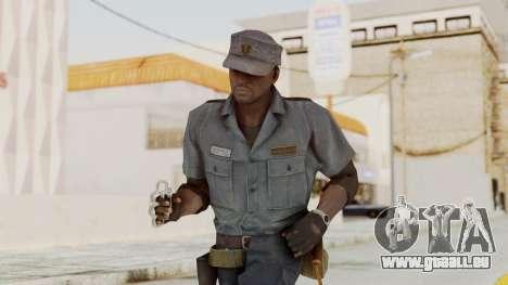MGSV Phantom Pain Zero Risk Security Combat v1 pour GTA San Andreas