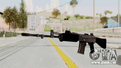 IOFB INSAS Plastic Black Skin für GTA San Andreas
