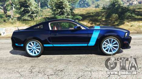 Ford Mustang Boss 302 2013 pour GTA 5