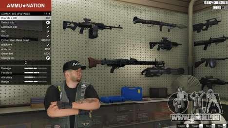 GTA 5 MG-42 deuxième capture d'écran