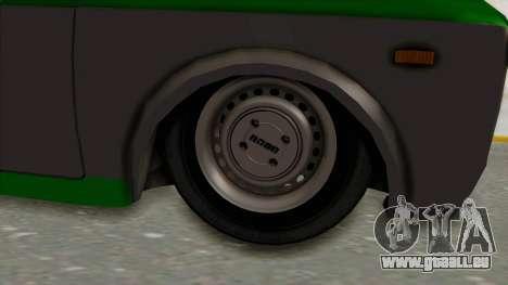 Fiat 128 De Picadas pour GTA San Andreas vue arrière