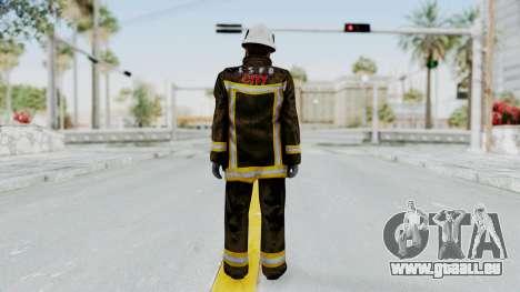 GTA 5 Fireman SF für GTA San Andreas dritten Screenshot