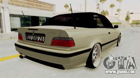 BMW 320CI E36 pour GTA San Andreas vue de droite