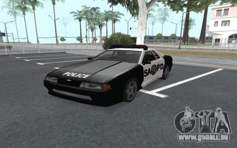 Elegy SAPD pour GTA San Andreas