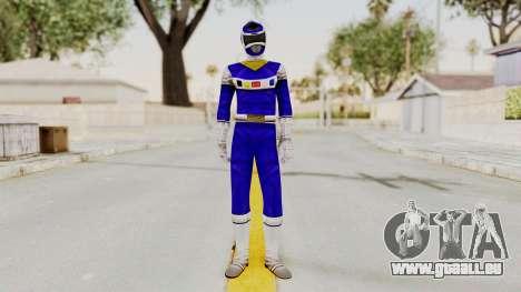 Power Rangers In Space - Blue pour GTA San Andreas deuxième écran