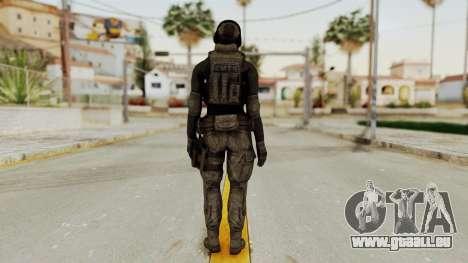 Phantomers Linda Sashantti Soldier pour GTA San Andreas troisième écran