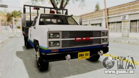 GMC Sierra 3500 pour GTA San Andreas