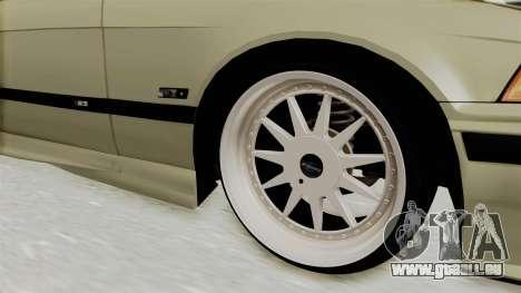 BMW 320CI E36 pour GTA San Andreas vue arrière