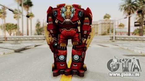 Marvel Future Fight - Hulkbuster pour GTA San Andreas troisième écran