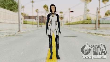 Mass Effect 3 Dr. Eva New Short Hair pour GTA San Andreas deuxième écran