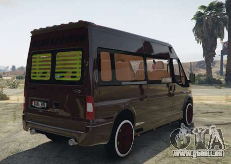 Ford Transit 1.1 [Replace] pour GTA 5