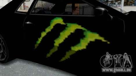 Monster Elegy für GTA San Andreas Rückansicht