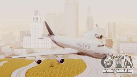 Boeing 747-400 United Airlines pour GTA San Andreas