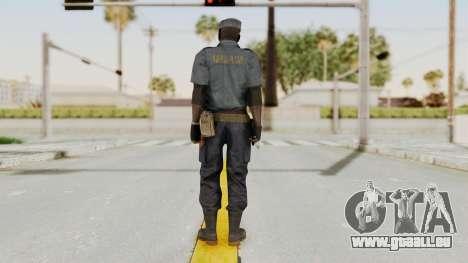 MGSV Phantom Pain Zero Risk Security Combat v1 für GTA San Andreas dritten Screenshot