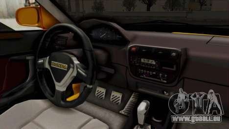 Honda Civic Vermidon für GTA San Andreas Innenansicht