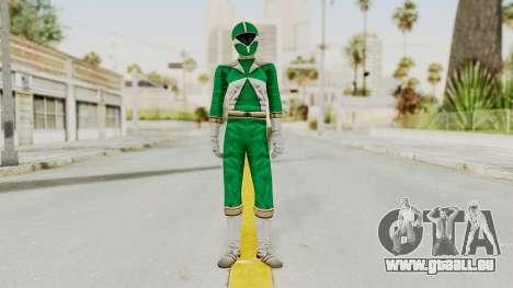 Power Rangers Lightspeed Rescue - Green pour GTA San Andreas deuxième écran