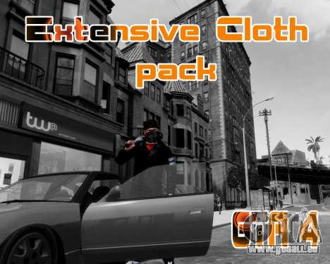 Extensive Cloth Pack for Niko 1.0 für GTA 4