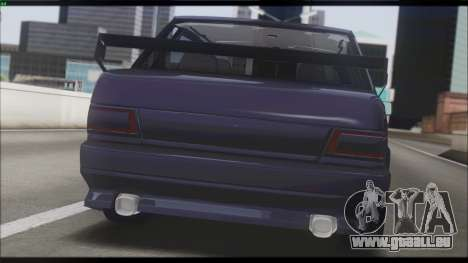 2115 pour GTA San Andreas vue intérieure