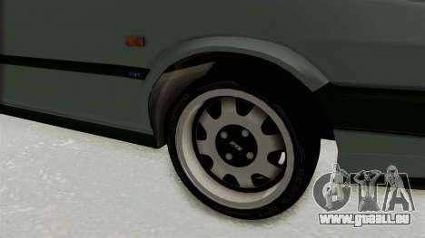 Fiat Tempra für GTA San Andreas Rückansicht