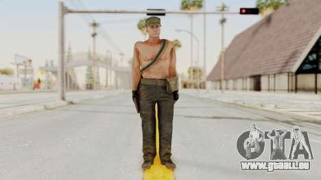 MGSV Phantom Pain Rogue Coyote Soldier Naked v1 pour GTA San Andreas deuxième écran
