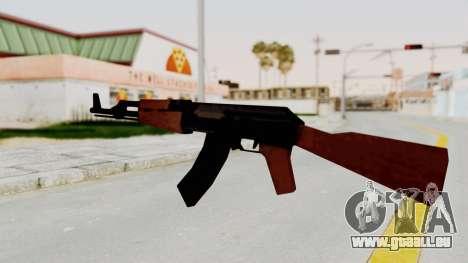 Liberty City Stories AK-47 pour GTA San Andreas troisième écran