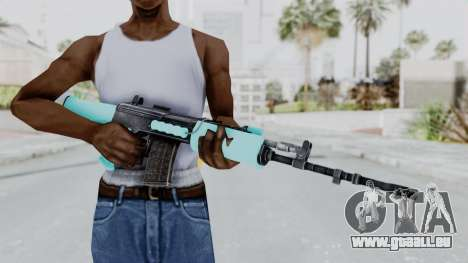 IOFB INSAS Light Blue für GTA San Andreas dritten Screenshot