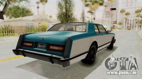 GTA 5 Dundreary Virgo Classic IVF pour GTA San Andreas laissé vue