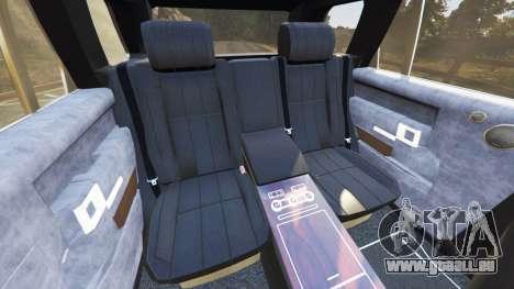 GTA 5 Range Rover (L405) Vogue 2013 avant droite vue de côté