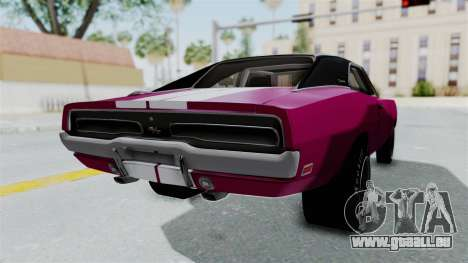 Dodge Charger 1969 Drag für GTA San Andreas linke Ansicht